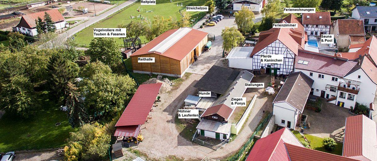 """Permalink auf:Pension Landhaus """"Zum Ross"""" (Thüringen)"""